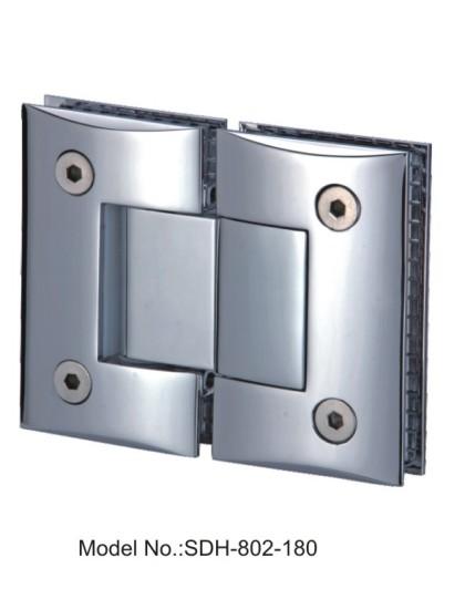 180 Degree Shower Door Hinges For Frameless Shower Door Glass to Glass[SDH-802-180]