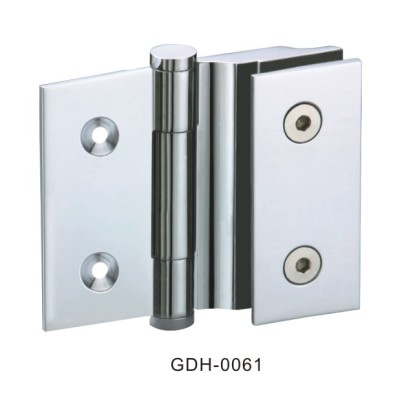 Wall to Glass Sharp Square Glass Door Hinges[GDH-0061]