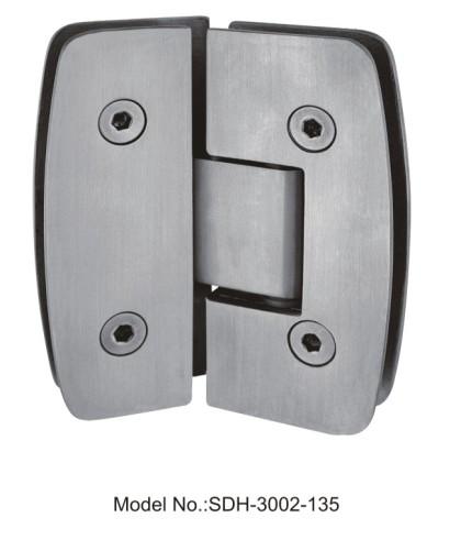 135 Degree Shower Door Hinges wholesale in stainless steel[SDH-3002-135]