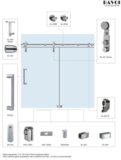 Fantasy-Sliding door system manufacturer for shower room