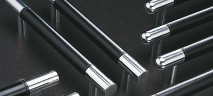 Flush Leather pull handles