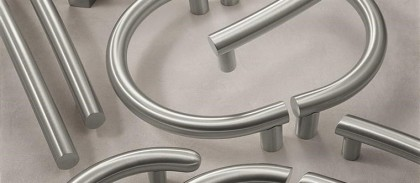 Solid stainless steel customized pulls