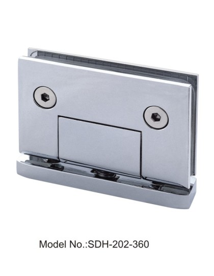 360 Degree Glass to Header Top Mounted Shower Door Pivot Hinge[SDH-202-360]