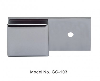180 Degree Glass to Wall Beveled Edge Glass Clamps[GC-103]