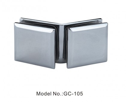 135 Degree Glass to Glass Square Beveled Glass Clamps[GC-105]