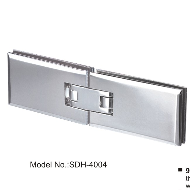 90 to 180 degree automatically close shower door hinges for 180 degree glass door hinge