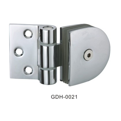 Wall to Glass Half Round Glass Door Hinges[GDH-0021]