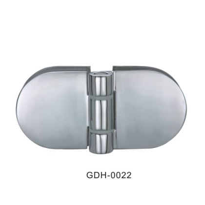 Du verre au verre à moitié autour de charnières de porte en verre[GDH-0022]