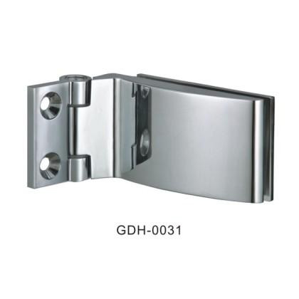 Mur de verre biseauté arête du verre charnières de porte[GDH-0031]