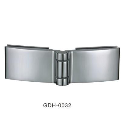 Verre à verre biseauté arête du verre charnières de porte[GDH-0032]