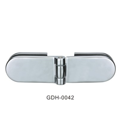 Glass to Glass Elliptical Shape Glass Door Hinges[GDH-0042]