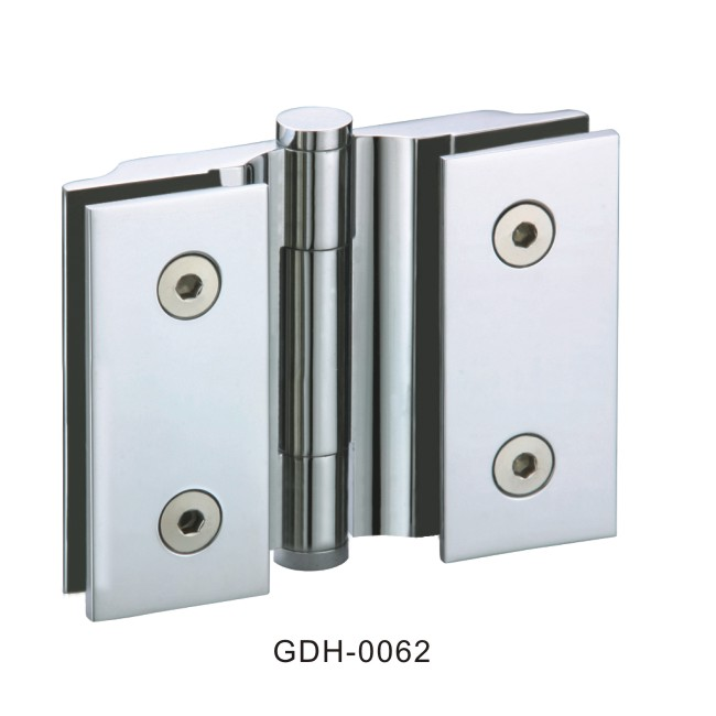 Glass Shower Door Hinges : Glass to sharp square door hinges gdh