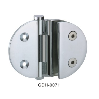Wall to Glass Round Glass Door Hinges[0071]