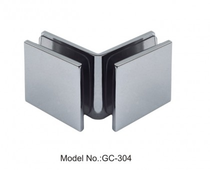 90 Degree Glass to Glass Sharp Square Glass Clamps[GC-304]