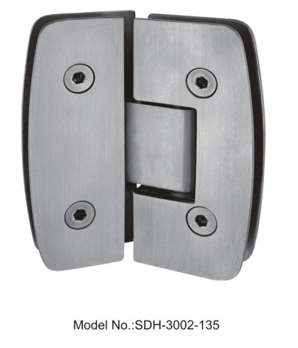 135 Degree Shower Door Hinges wholesale in stainless steel[SDH-3002-135]