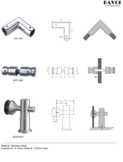 Roller-Shower sliding system component part supply[KA-109,WPF-09A,SDH-6201]