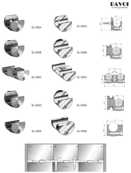 Vinna-Sliding Door Solution Supplier[SL-005A][SL-005B][SL-005C][SL-005D][SL-005E]