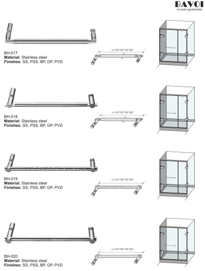 Stainless steel towel bar manufacturer for bathroom[BH-017,BH-018,BH-019,BH-020]