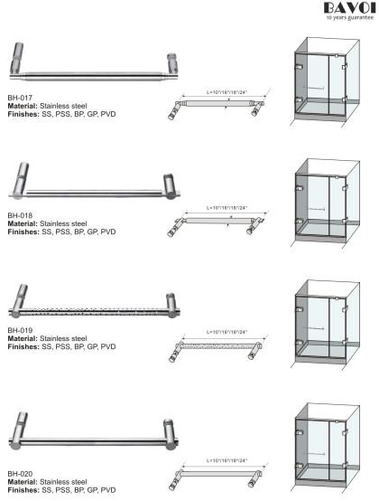 Stainless steel towel bar manufacturer for bathroom[BH-017,BH-018,BH-019,BH-020]