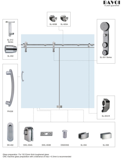 Chill-Sliding Door system bathroom manufacturer