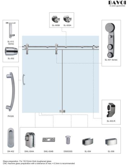 Chill-Sliding Door system bathroom manufacturer