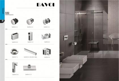 90 180 degree glass sliding door system solution supplier[SLA014]