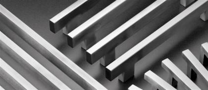 Tubular square and rectangular pulls