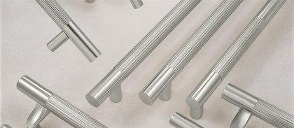 Fluted design pull handles