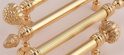Brass Aluminum customized pulls