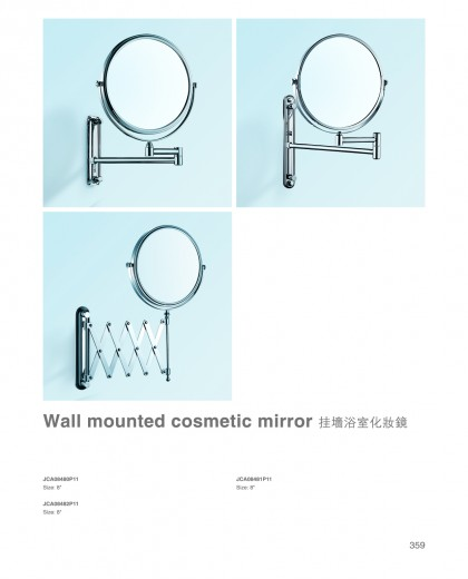 Wall mounted cosmetic mirror China factory