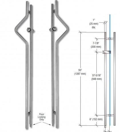 Bavoi 55″ Triangular locking ladder pulls china factory